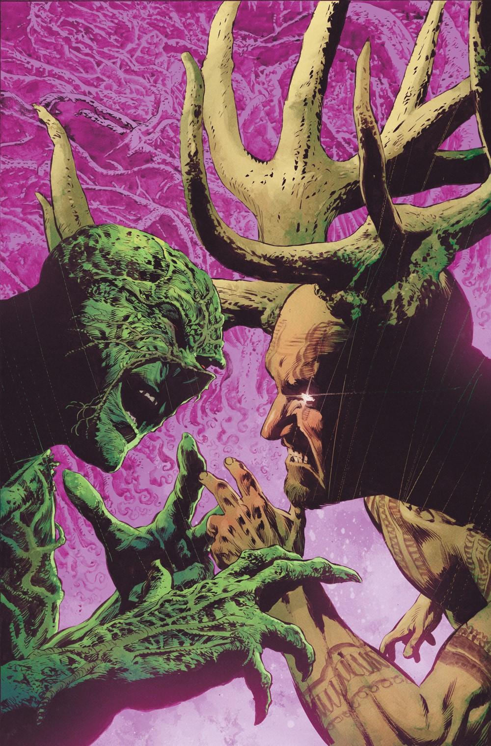 THE-SWAMP-THING-Cv9 DC Comics November 2021 Solicitations