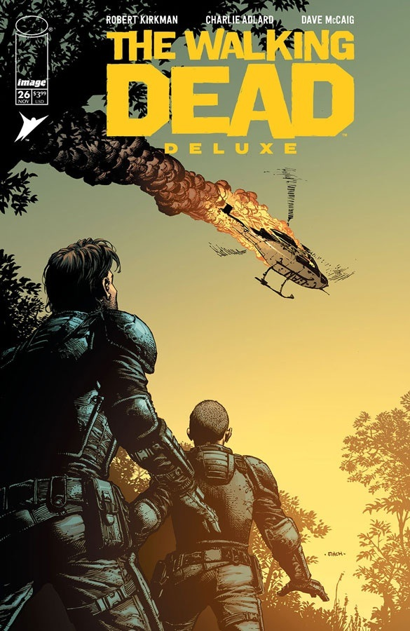 TheWalkingDeadDeluxe_26a_finch Image Comics November 2021 Solicitations