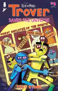 Trover02_Cover_c6815a0147f8285e3b5042ebb3626151-194x300 First Look at TROVER SAVES THE UNIVERSE #2 from Image Comics