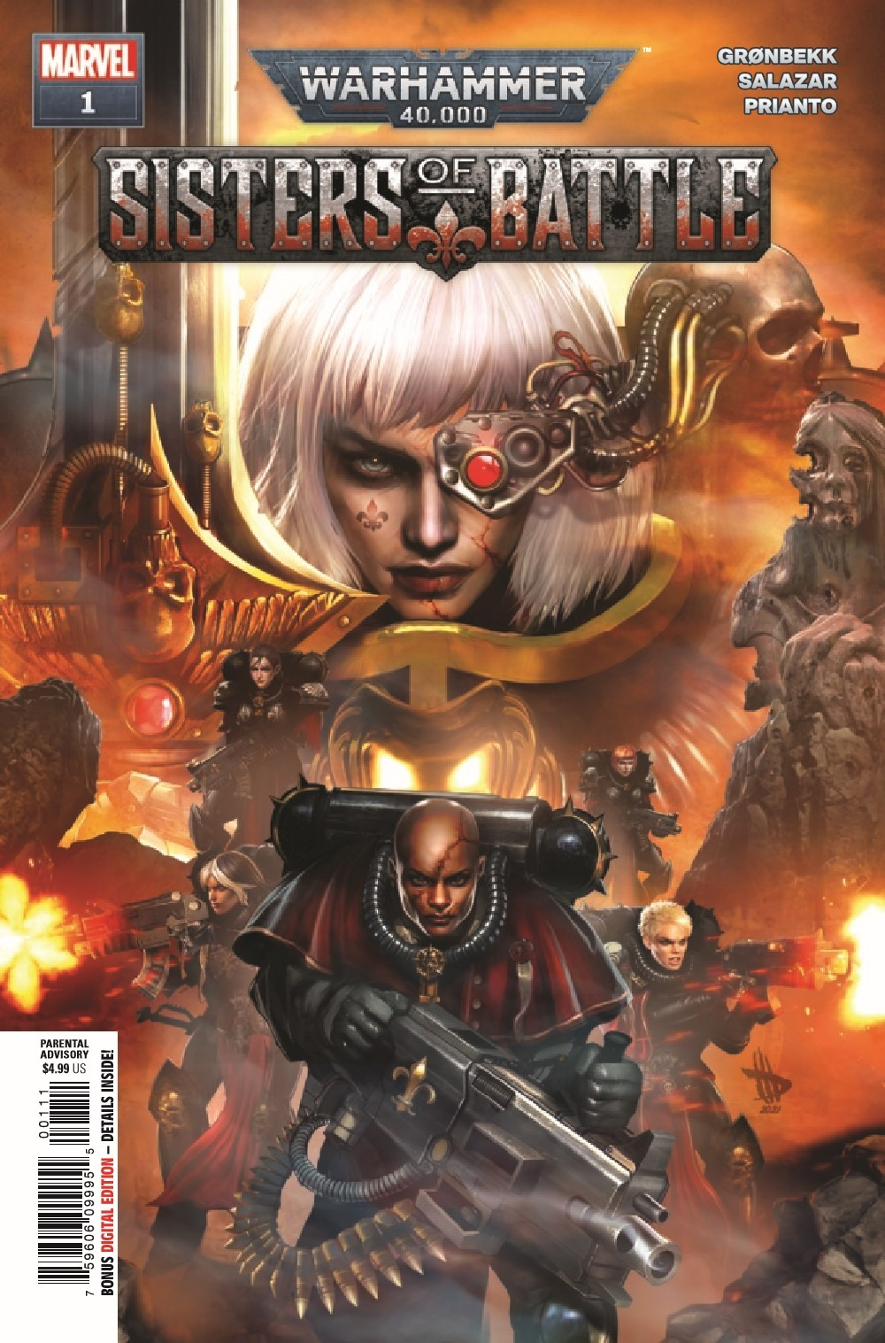 WARHAMMERSOB2021001_Preview-1 ComicList Previews: WARHAMMER 40000 SISTERS OF BATTLE #1 (OF 5)