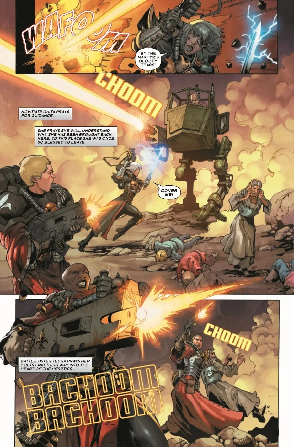 WARHAMMERSOB2021001_Preview-6 ComicList Previews: WARHAMMER 40000 SISTERS OF BATTLE #1 (OF 5)