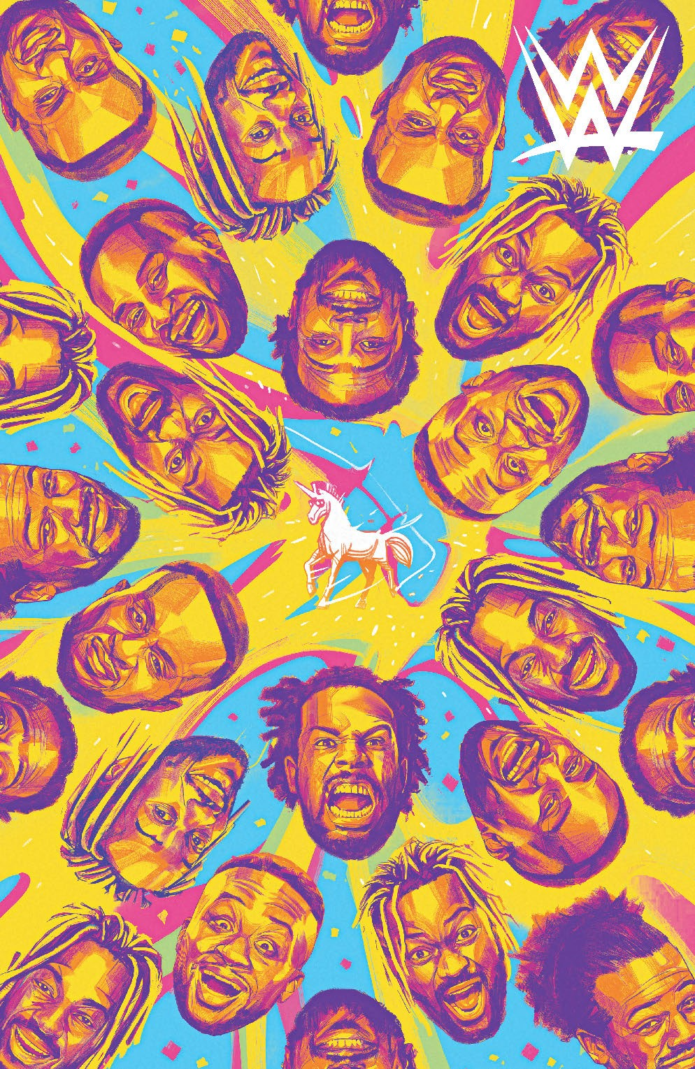WWE_NewDay_002_Cover_D_Variant ComicList Previews: WWE THE NEW DAY POWER OF POSITIVITY #2 (OF 2)