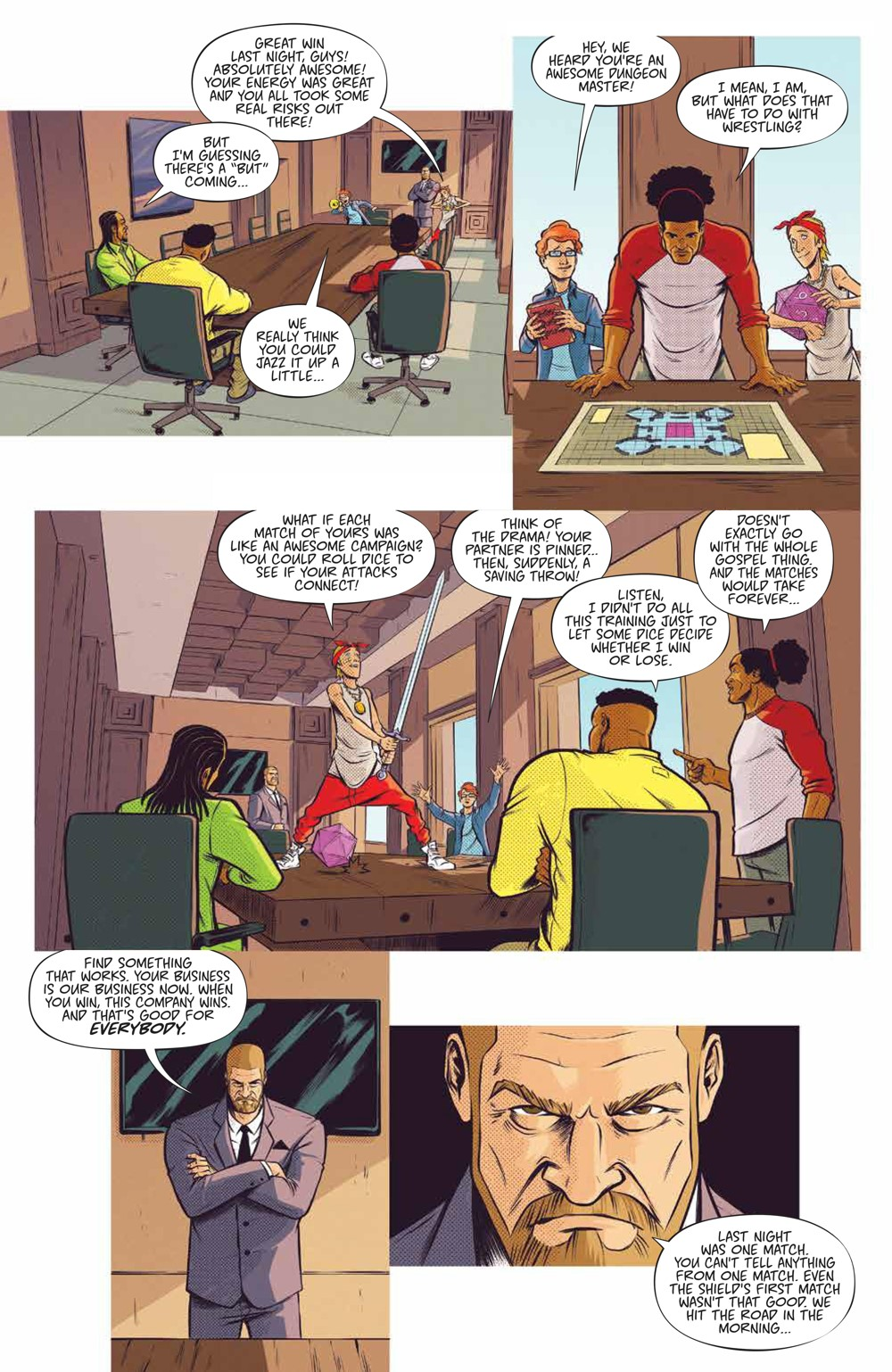 WWE_NewDay_002_PRESS_7 ComicList Previews: WWE THE NEW DAY POWER OF POSITIVITY #2 (OF 2)