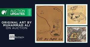 "092121B-300x157 ""The Greatest"": Muhammad Ali's Art hits Bonhams Auction House"