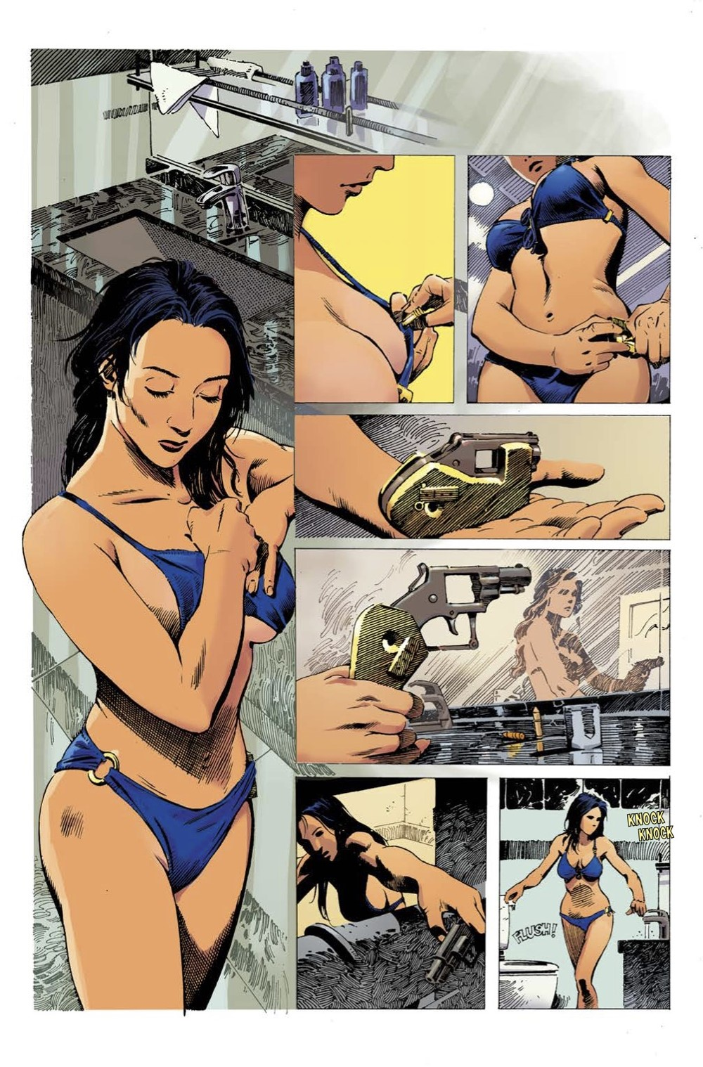 2 ComicList Previews: GUN HONEY #1