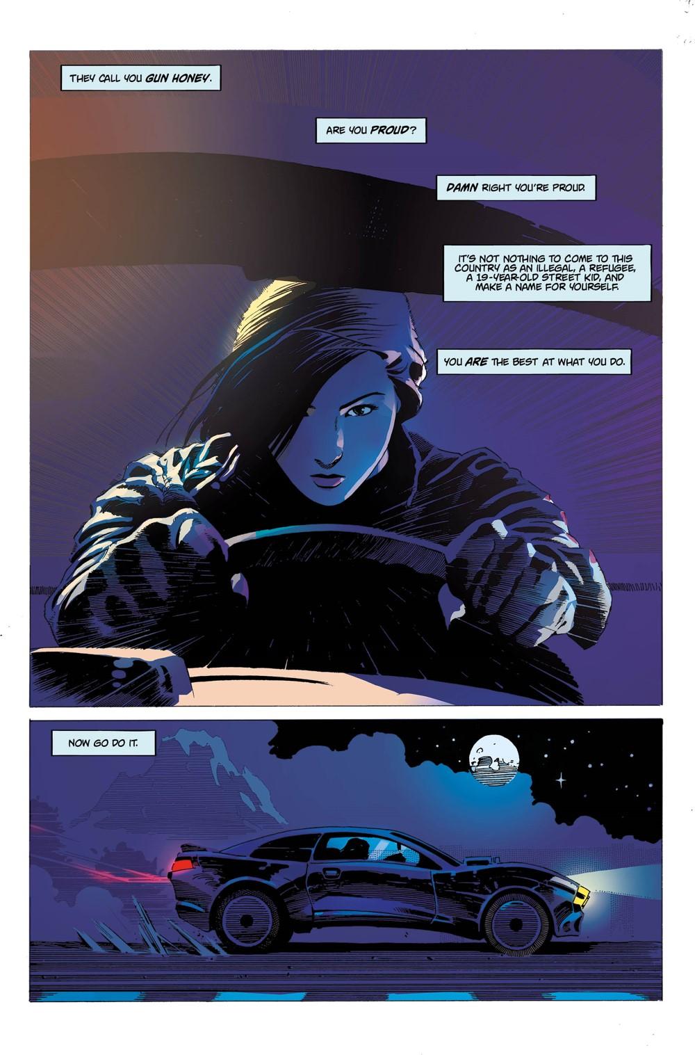 4 ComicList Previews: GUN HONEY #1