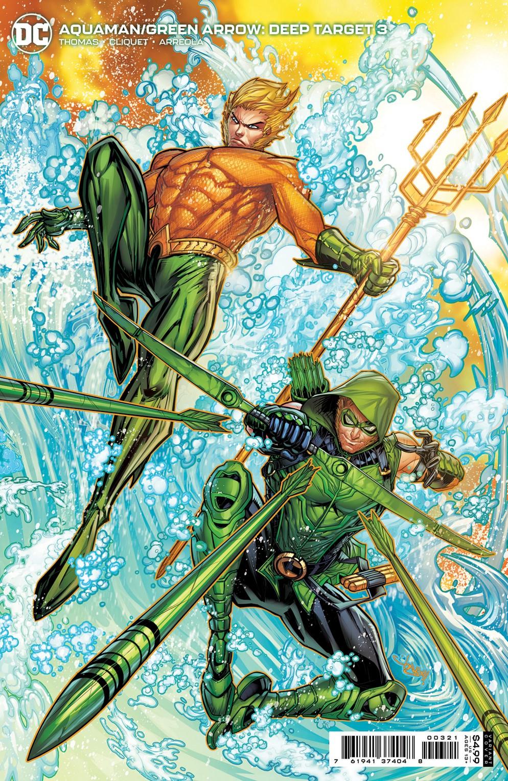 AQUAMAN_GREENARROW_DT_Cv3_var DC Comics December 2021 Solicitations
