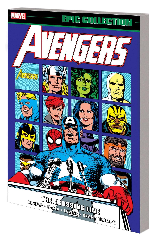 AVENEPIC_V20_TPB Marvel Comics December 2021 Solicitations