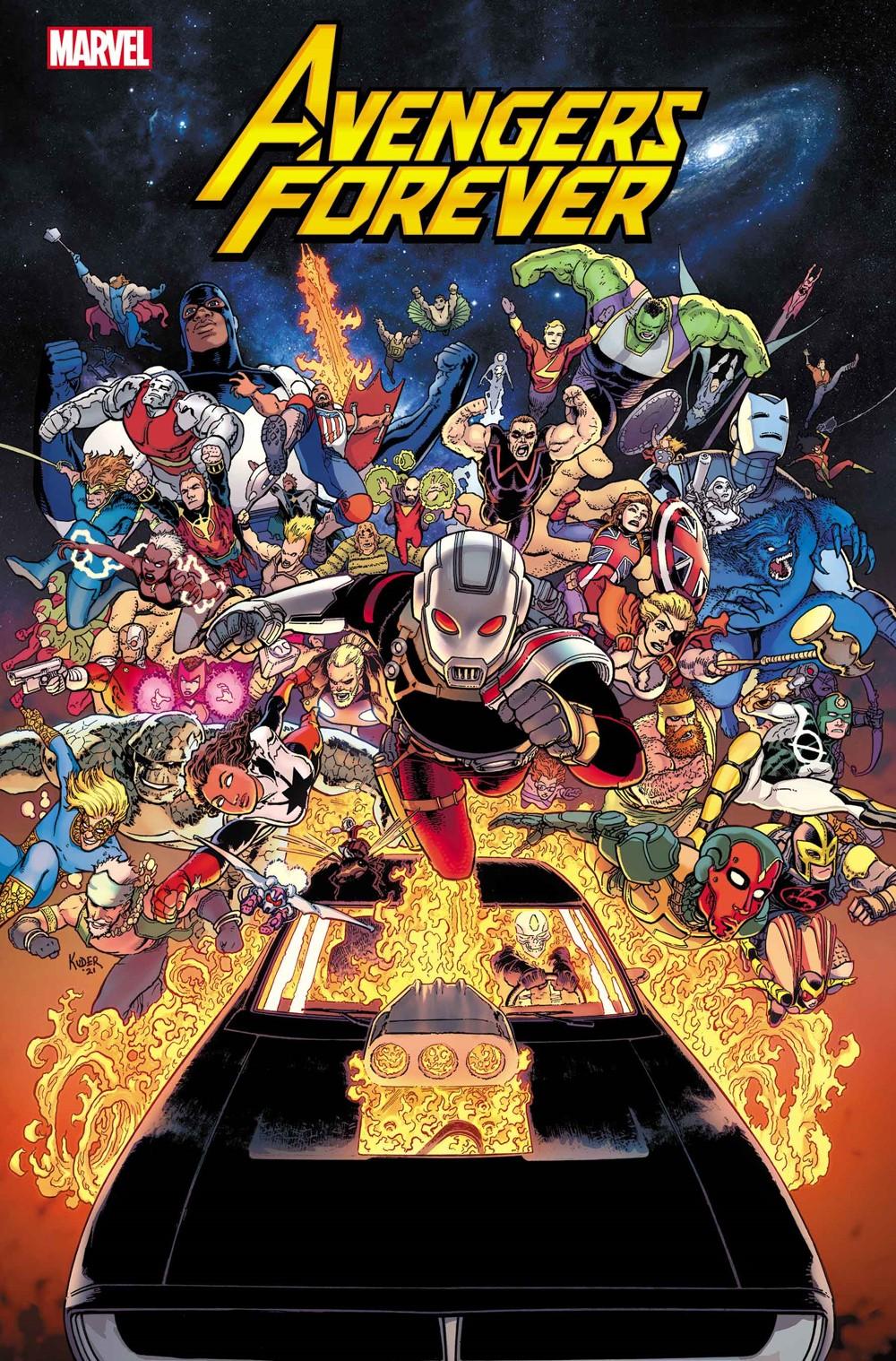 AVENFOR2021001_Cov-1 Marvel Comics December 2021 Solicitations
