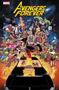 AVENFOR2021001_Cov-198x300 Avengers from across the multiverse assemble in AVENGERS FOREVER