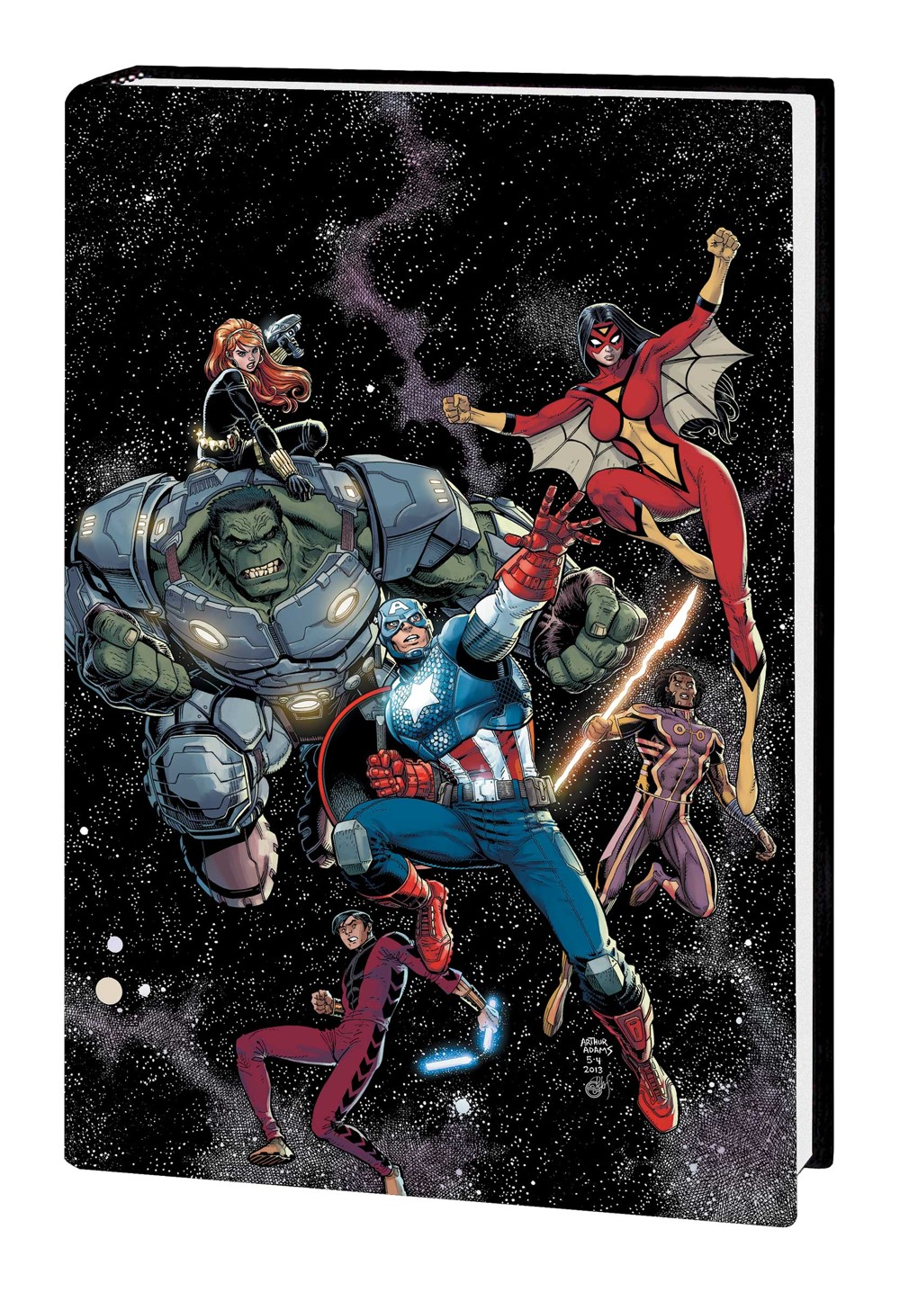 AVENGERS_JH_OMNI_V1_HC_DM Marvel Comics December 2021 Solicitations