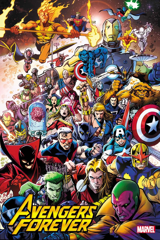 AVNFOR02021001_HiddenGem_Var Marvel Comics December 2021 Solicitations
