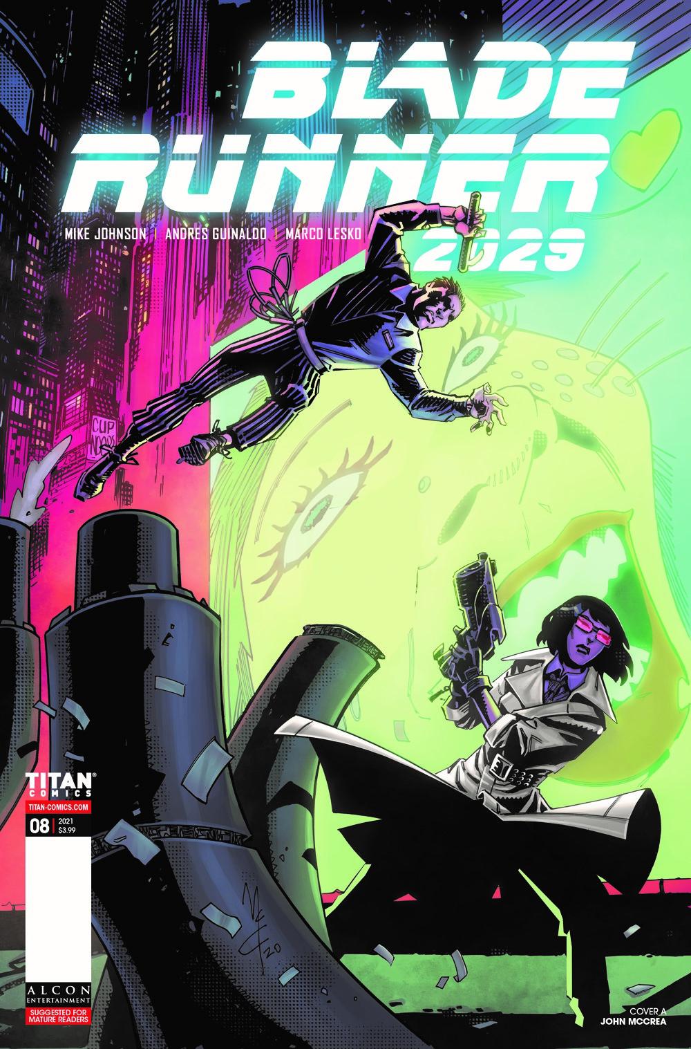 BLADE-RUNNER-2029-8-CVR-A-MCCREA-MR ComicList Previews: BLADE RUNNER 2029 #8