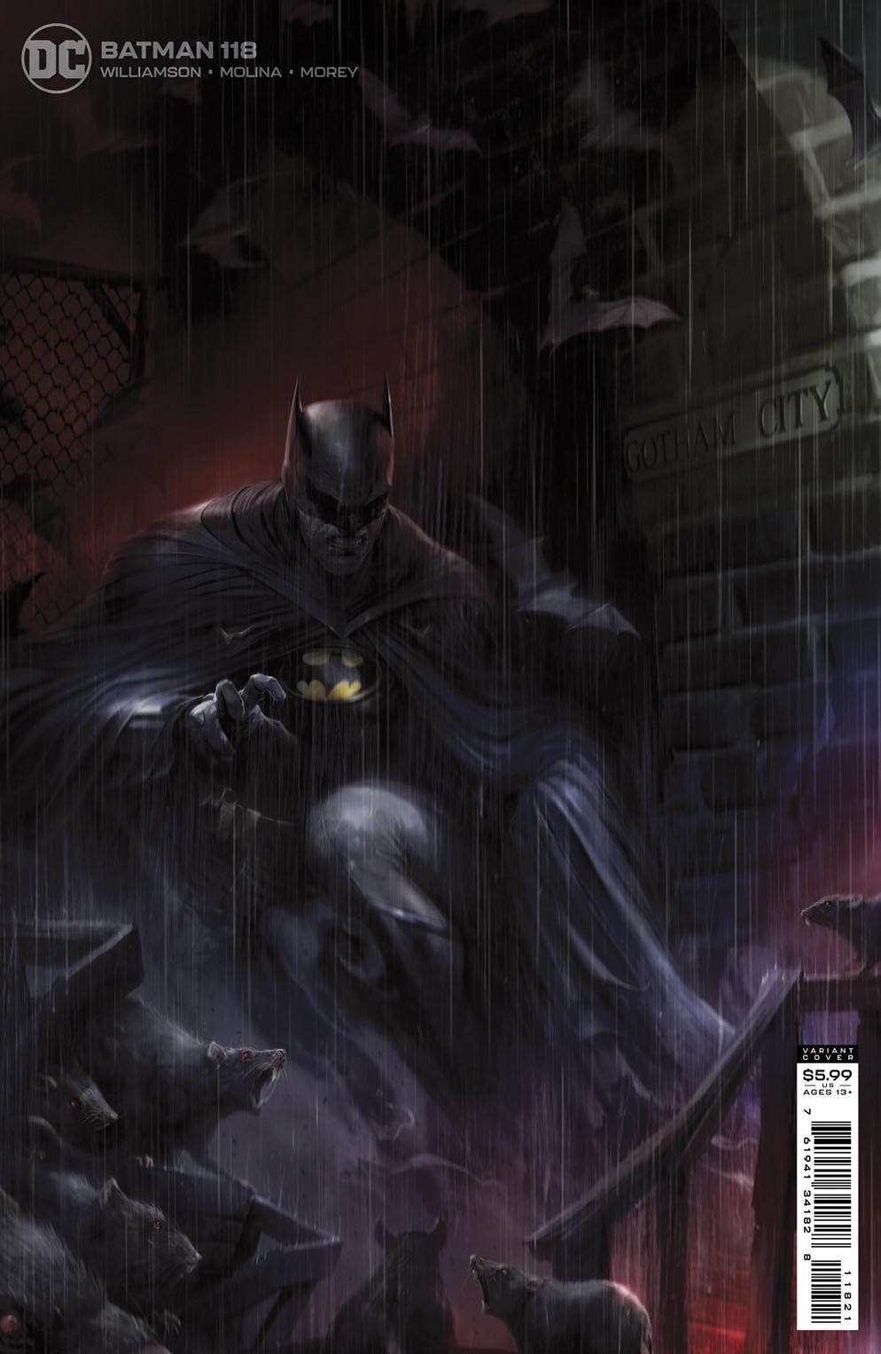BM_Cv118_var DC Comics December 2021 Solicitations