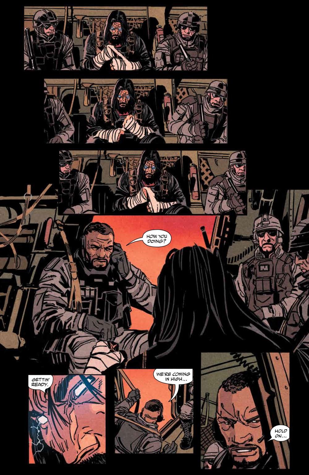 BRZRKR_v1_SC_PRESS_12 ComicList Previews: BRZRKR VOLUME 1 TP
