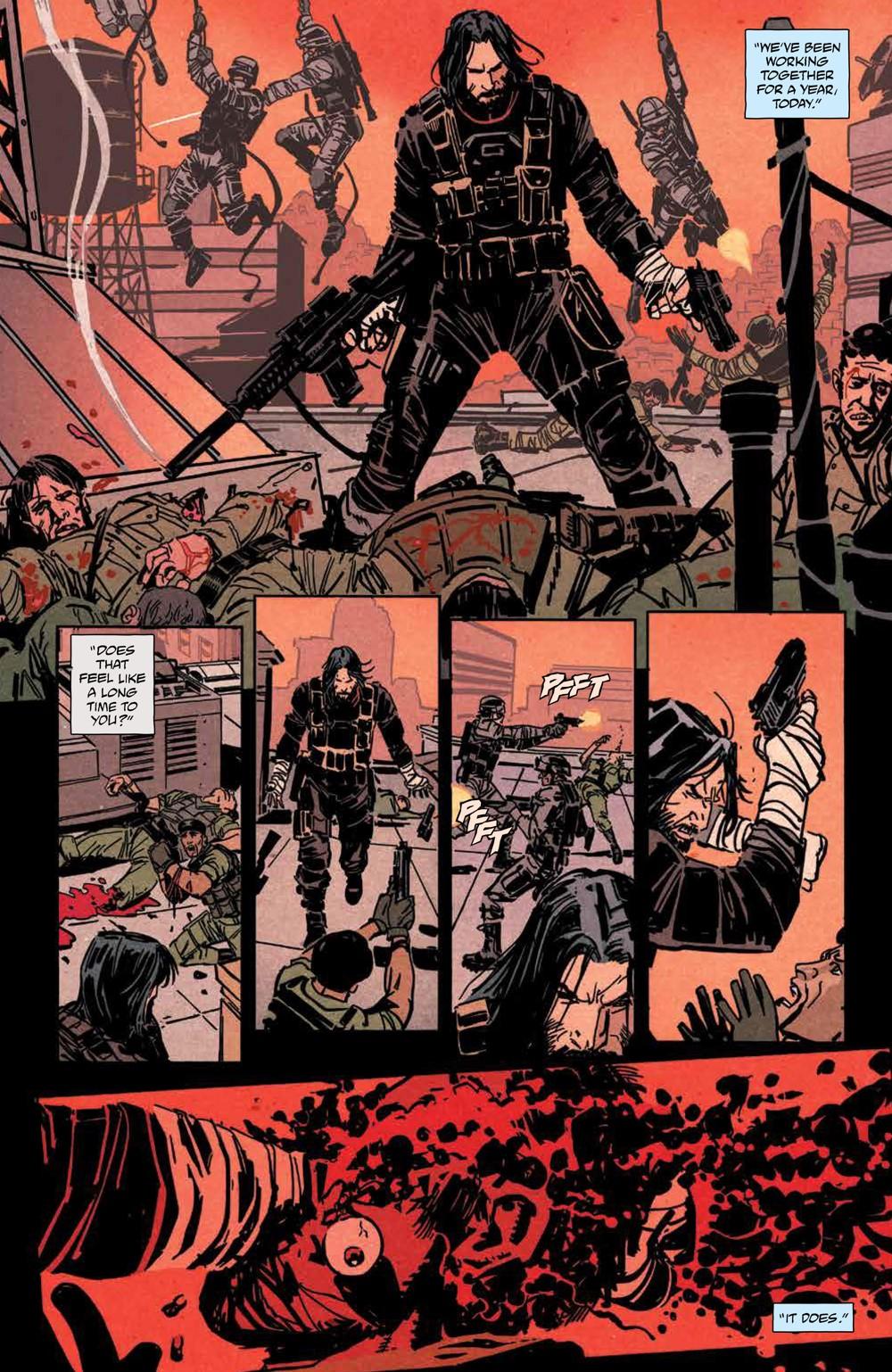 BRZRKR_v1_SC_PRESS_15 ComicList Previews: BRZRKR VOLUME 1 TP