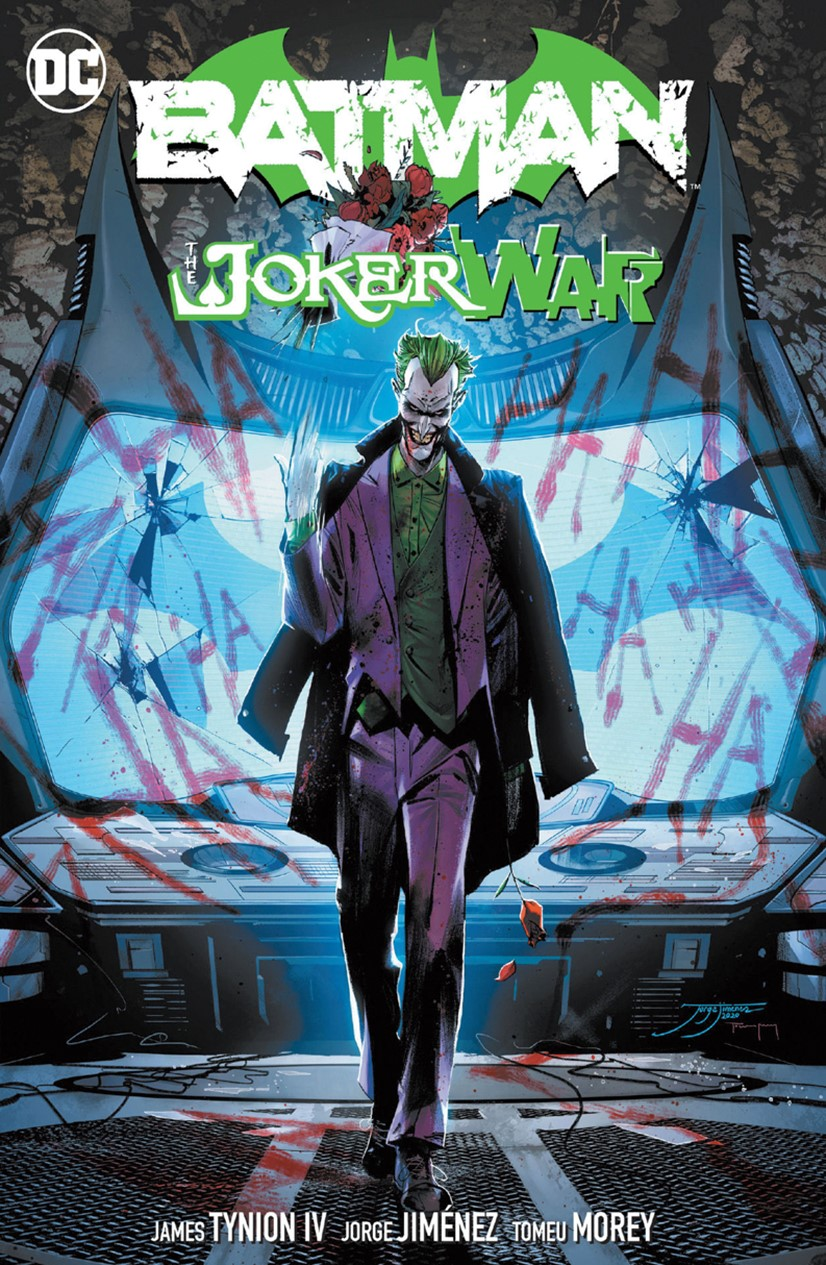 Batman-Joker-War DC Comics December 2021 Solicitations