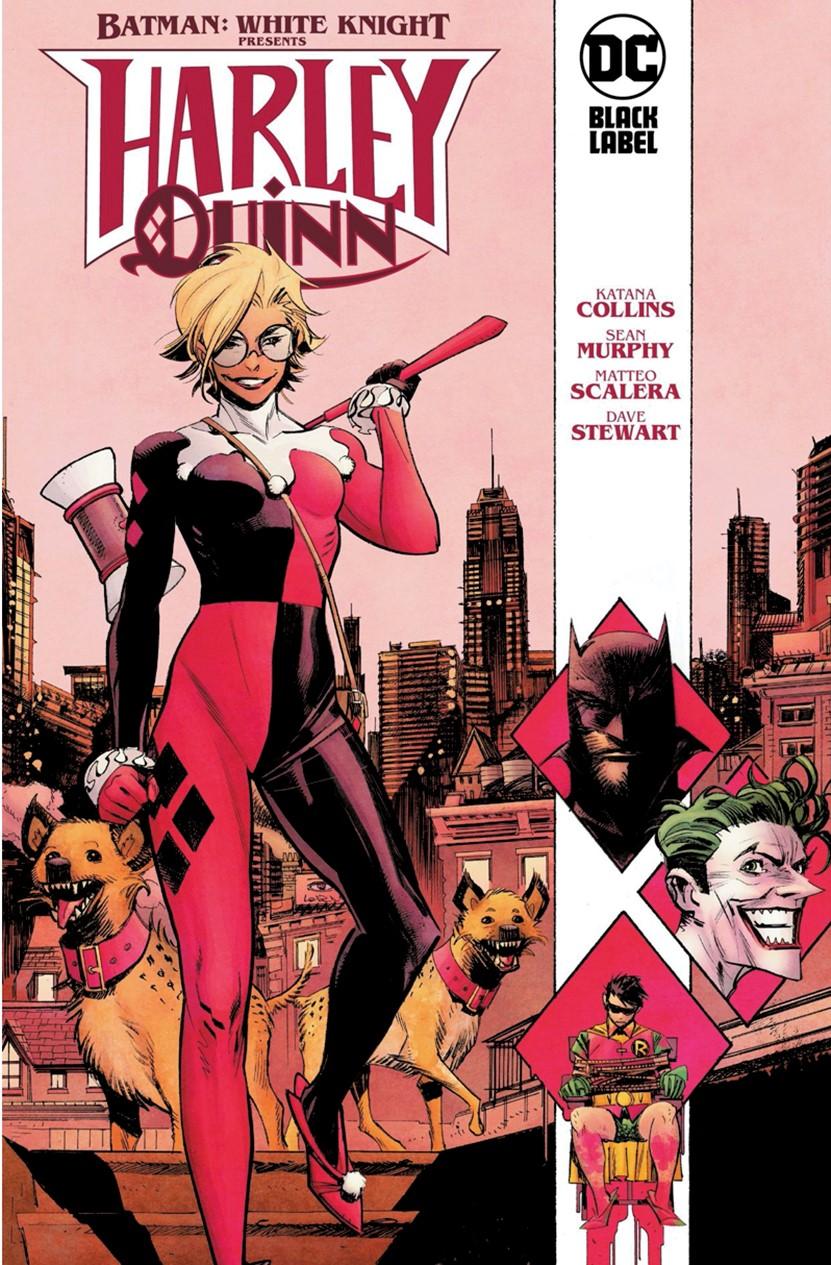 Batman-White-Knight-presents-Harley-Quinn DC Comics December 2021 Solicitations
