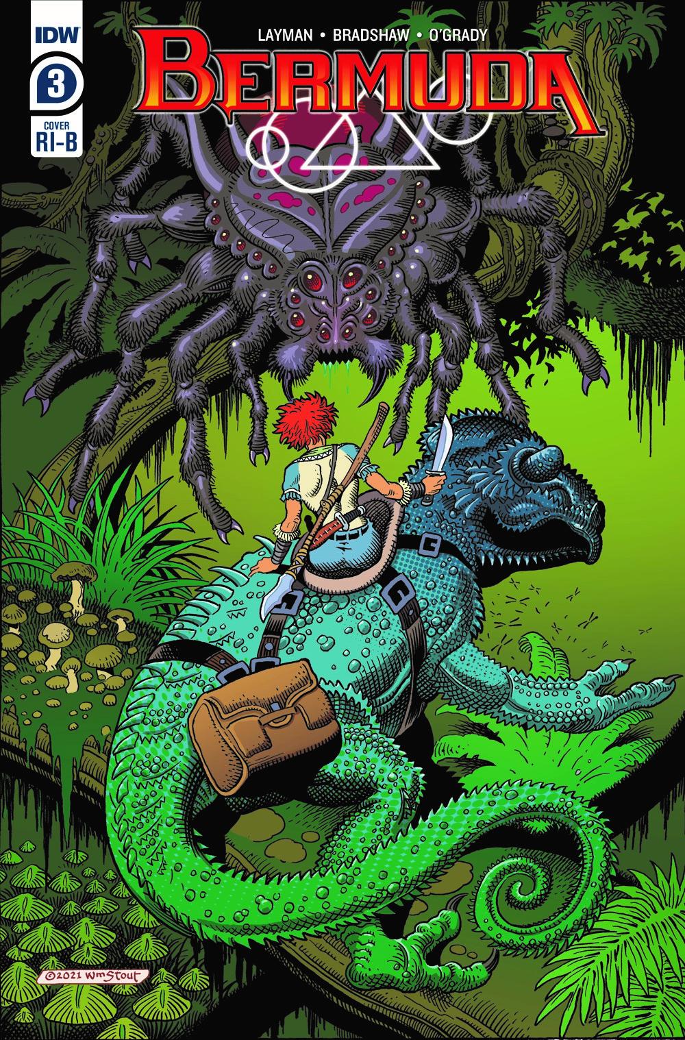 Bermuda03_CVR_RI_B ComicList: IDW Publishing New Releases for 09/15/2021