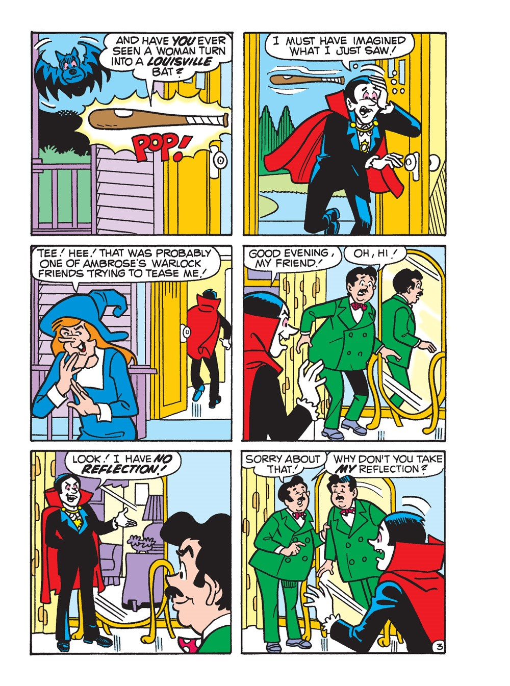BettyAndVeronicaJumboComicsDigest_297_038 ComicList Previews: BETTY AND VERONICA JUMBO COMICS DIGEST #297