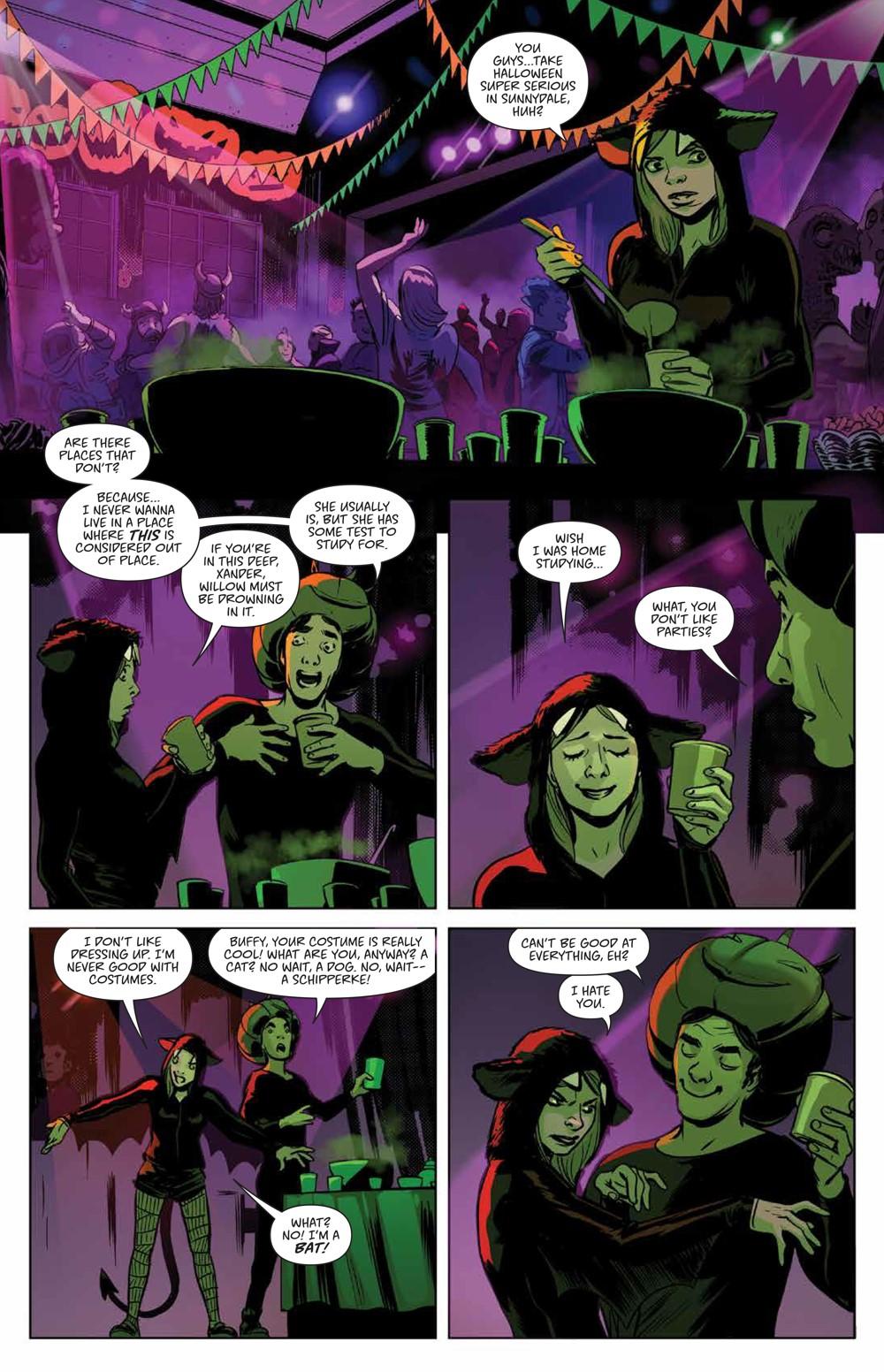Buffy_Deluxe_v2_Hellmouth_HC_PRESS_11 ComicList Previews: BUFFY THE VAMPIRE SLAYER HELLMOUTH DELUXE EDITION HC