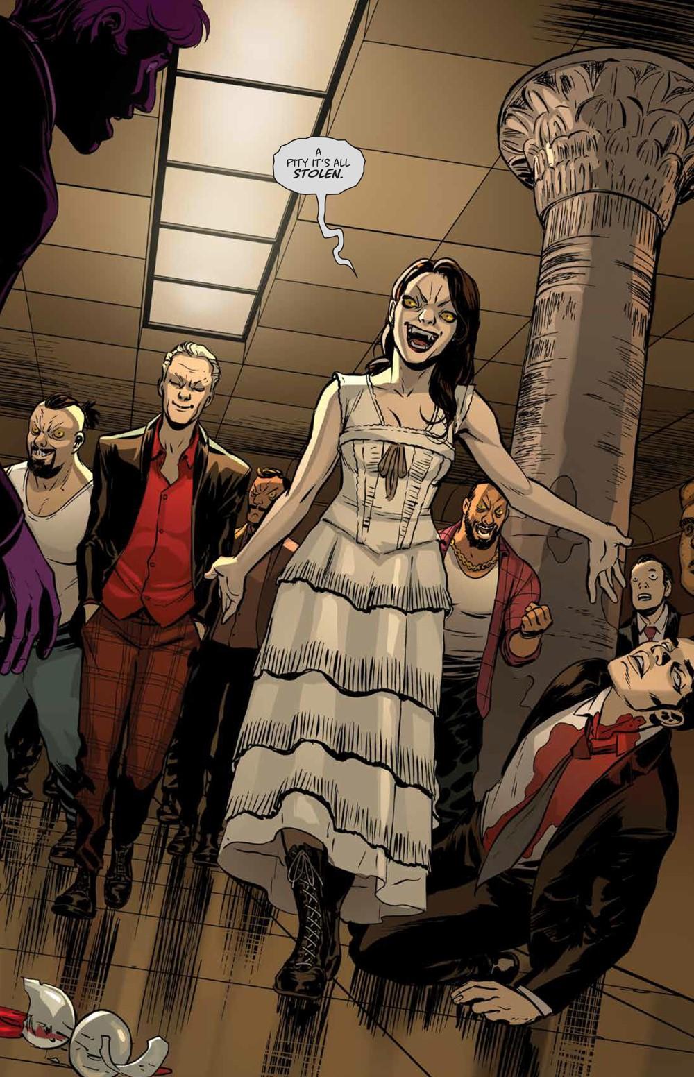 Buffy_Deluxe_v2_Hellmouth_HC_PRESS_20 ComicList Previews: BUFFY THE VAMPIRE SLAYER HELLMOUTH DELUXE EDITION HC