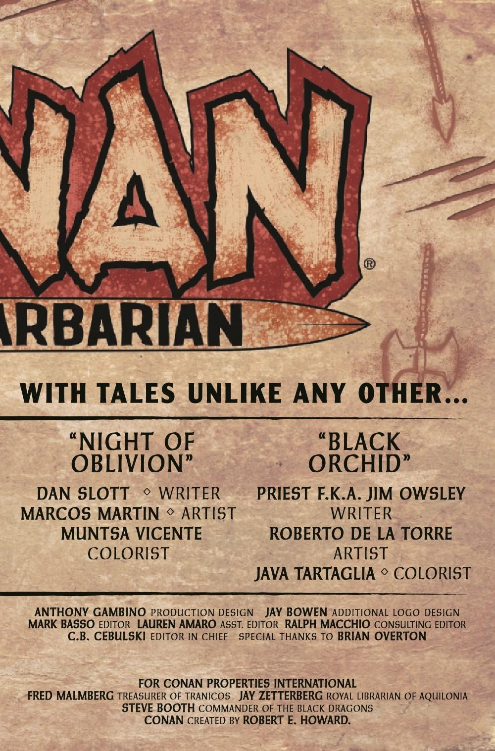 CONANBARB2019025_Preview-3 ComicList Previews: CONAN THE BARBARIAN #25