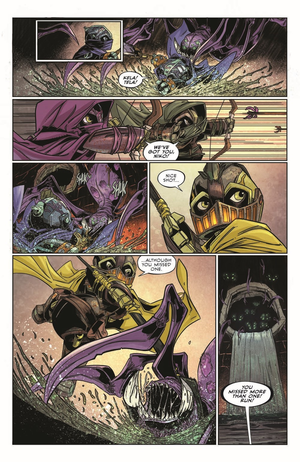 Canto-LH03_pr-6 ComicList Previews: CANTO III LIONHEARTED #3 (OF 6)