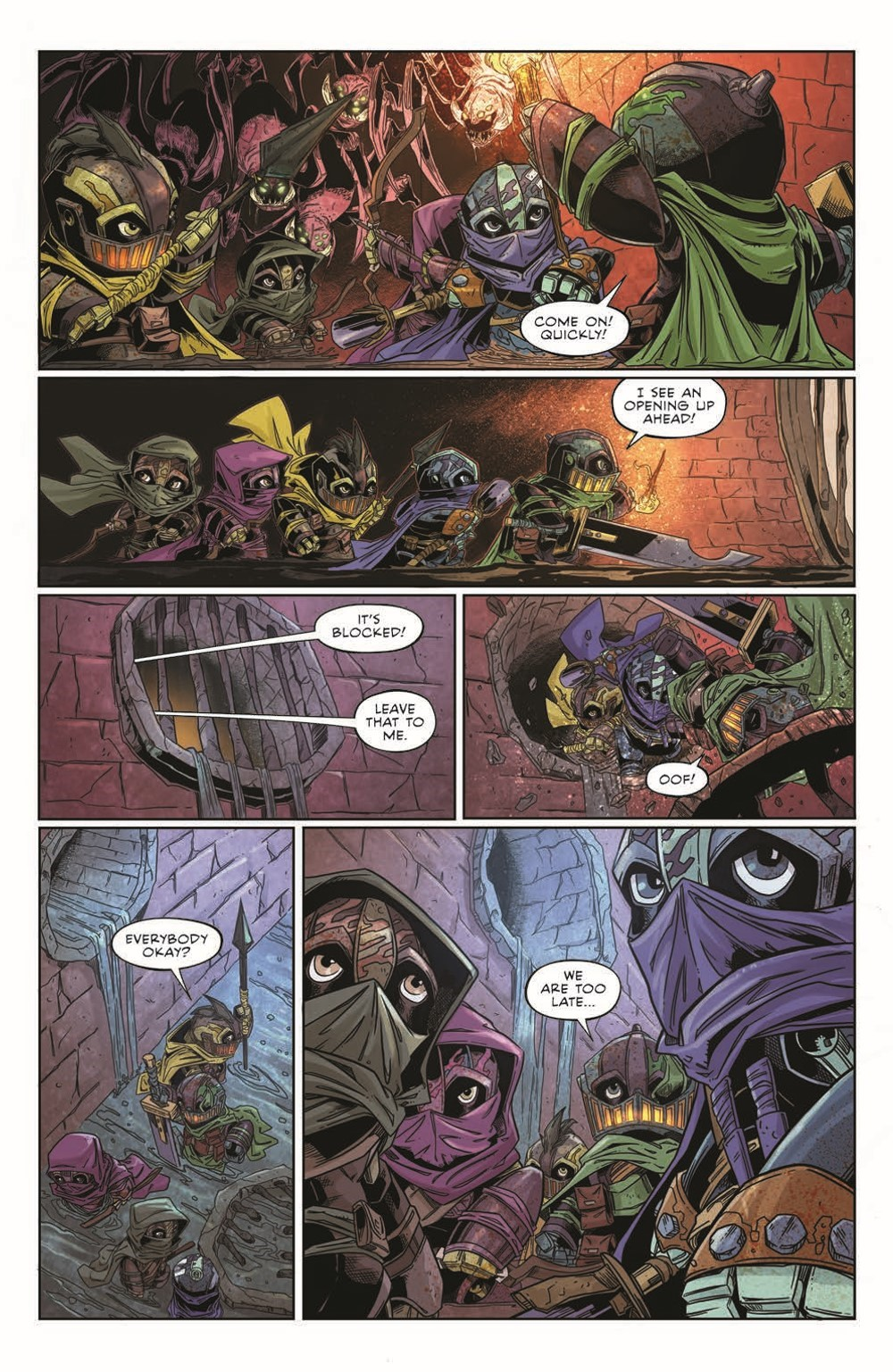 Canto-LH03_pr-7 ComicList Previews: CANTO III LIONHEARTED #3 (OF 6)