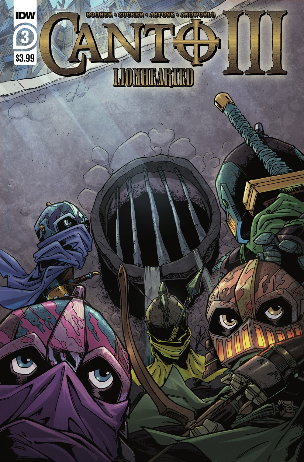 Canto-Lionhearted03_cvrA ComicList Previews: CANTO III LIONHEARTED #3 (OF 6)
