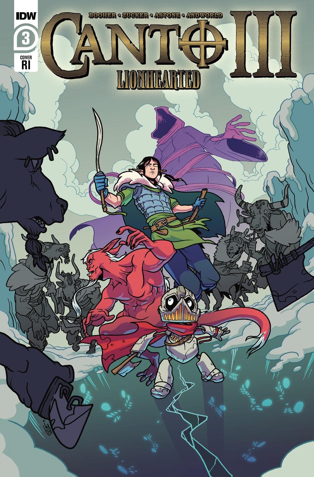 Canto-Lionhearted03_cvrRI ComicList Previews: CANTO III LIONHEARTED #3 (OF 6)
