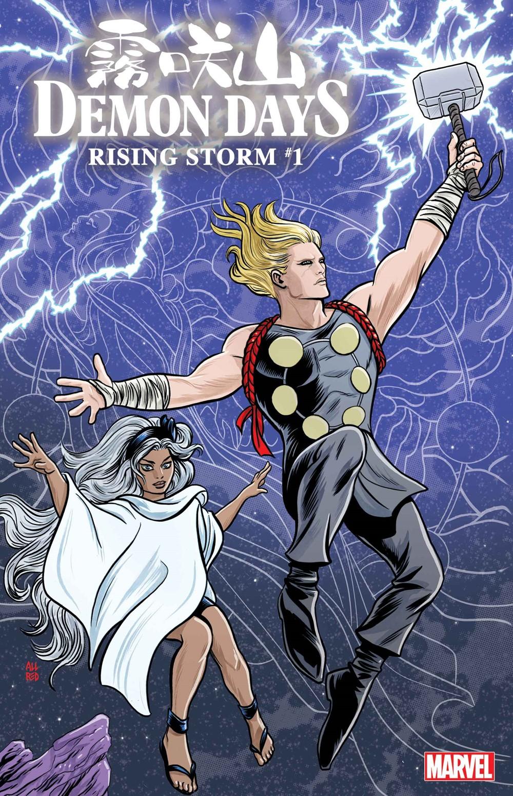 DEMONDAYSRISING001_Allred_var Marvel Comics December 2021 Solicitations
