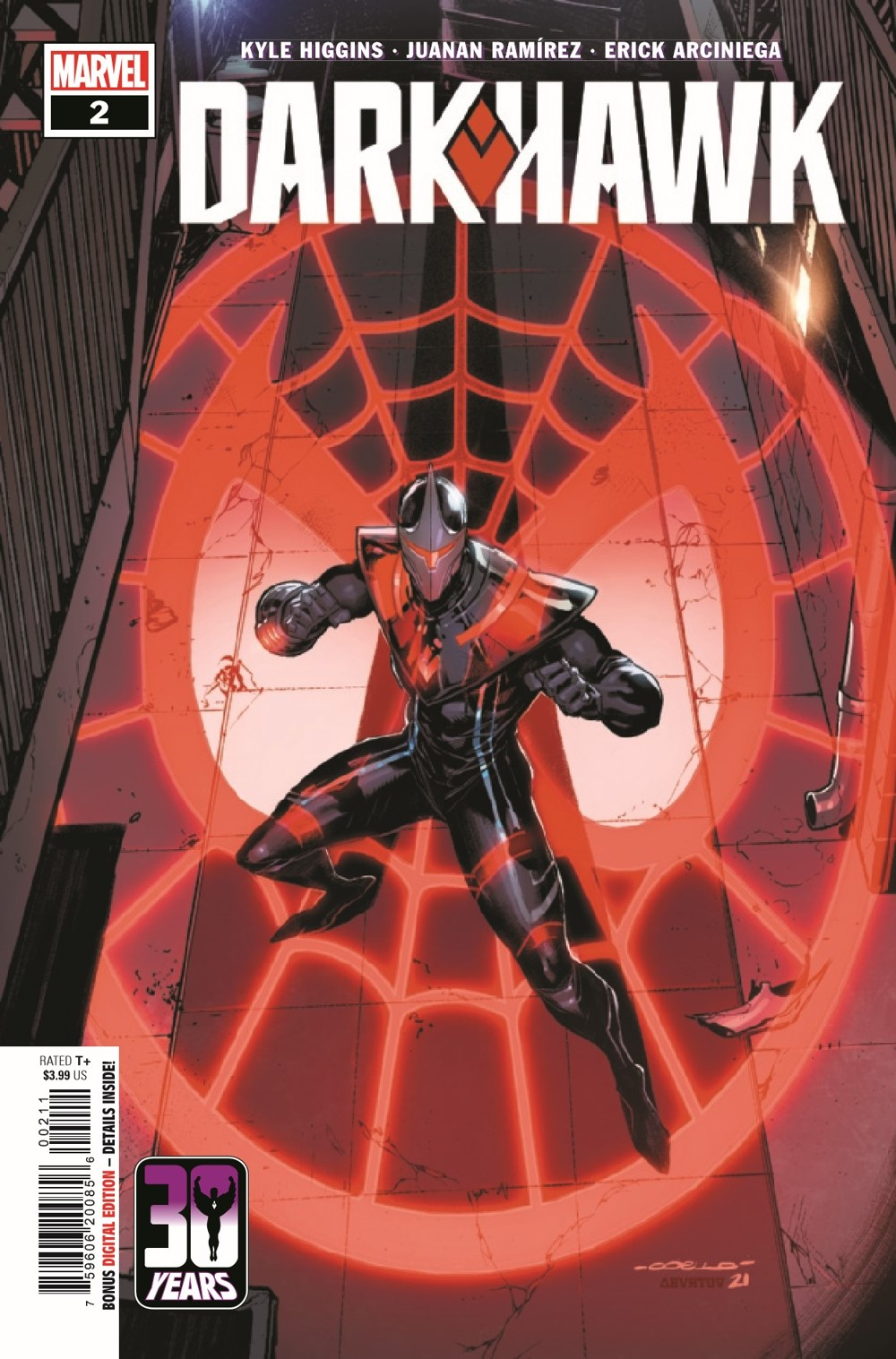 DRKHWK2021002_Preview-1 ComicList Previews: DARKHAWK #2 (OF 5)