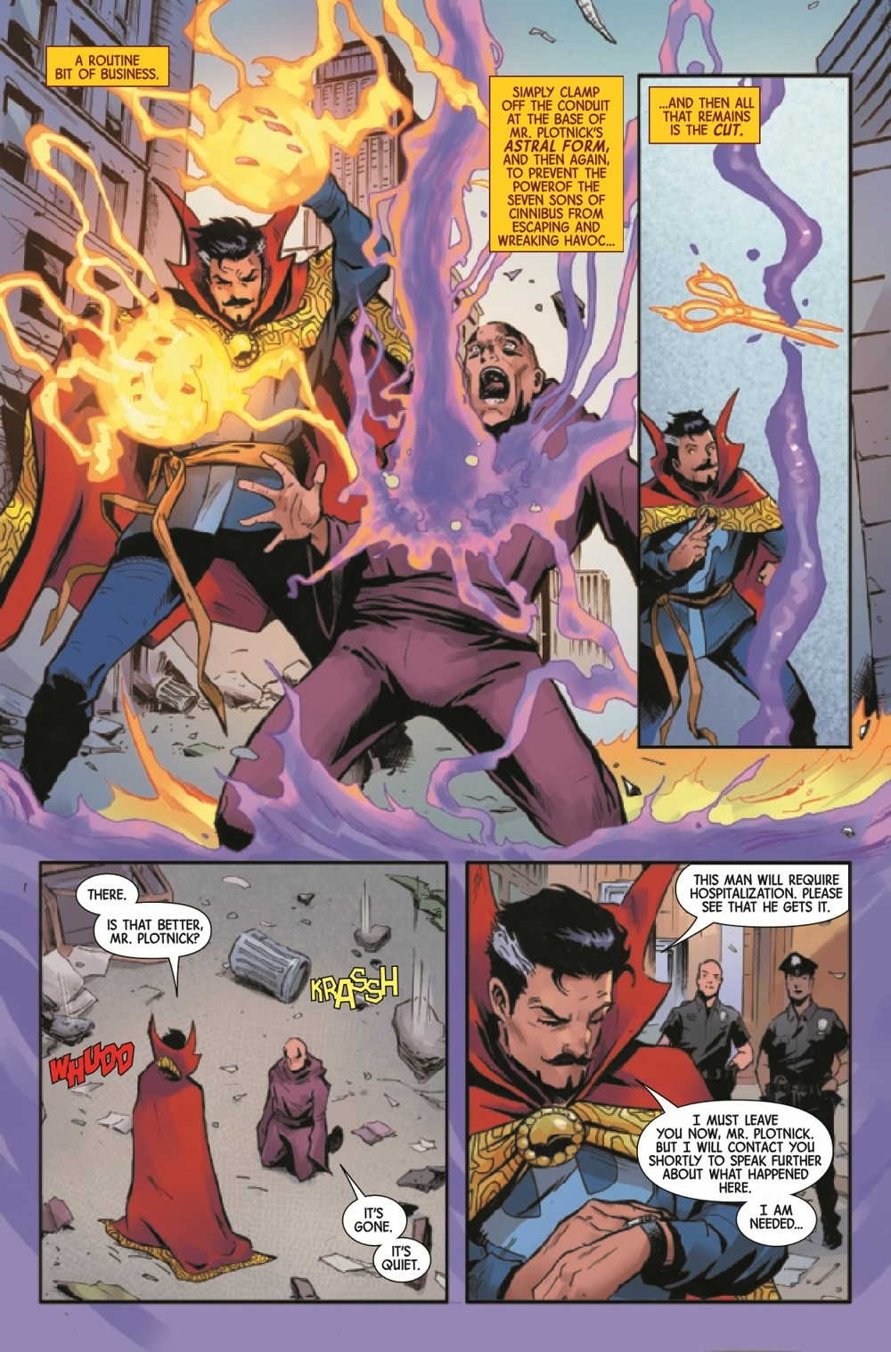 DRSDEATH2021001_Preview-6 ComicList Previews: DEATH OF DOCTOR STRANGE #1 (OF 5)