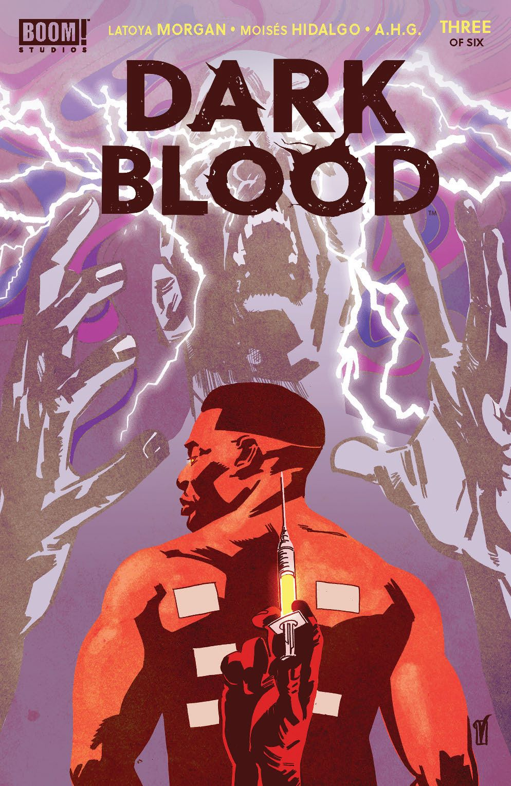 DarkBlood_003_Cover_A_Main ComicList: BOOM! Studios New Releases for 09/22/2021