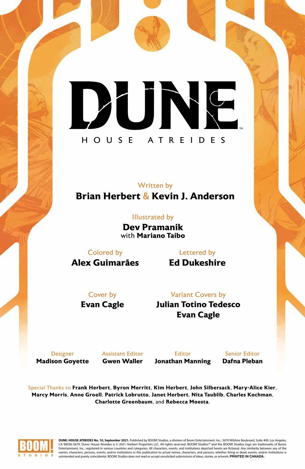 Dune_HouseAtreides_010_PRESS_2 ComicList Previews: DUNE HOUSE ATREIDES #10 (OF 12)