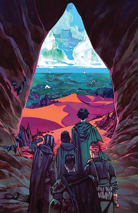 Dune_WhisperCaladanSeas_001_Cover_B_Variant BOOM! Studios December 2021 Solicitations