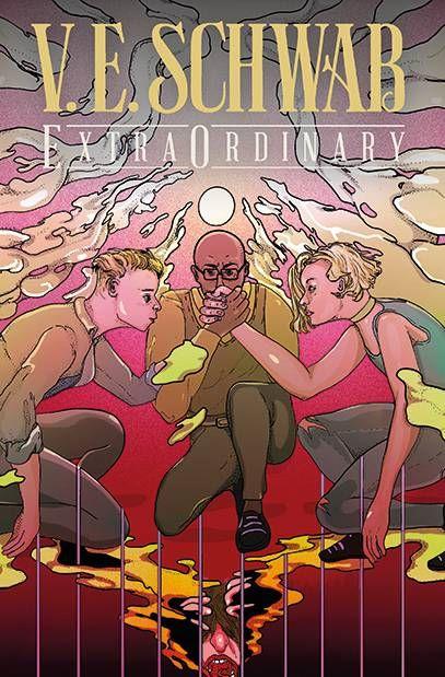 EXTRAORDINARY-4-CVR-B-REDOMONTI ComicList: Titan Comics New Releases for 09/15/2021
