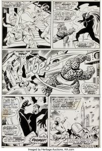 Fantastic-Four-139-page-22-202x300 John Buscema Original Art: Beyond Barbarians