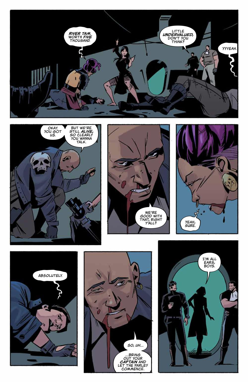 Firefly_ReturnToEarth_v1_HC_PRESS_16 ComicList Previews: FIREFLY RETURN TO THE EARTH THAT WAS VOLUME 1 HC