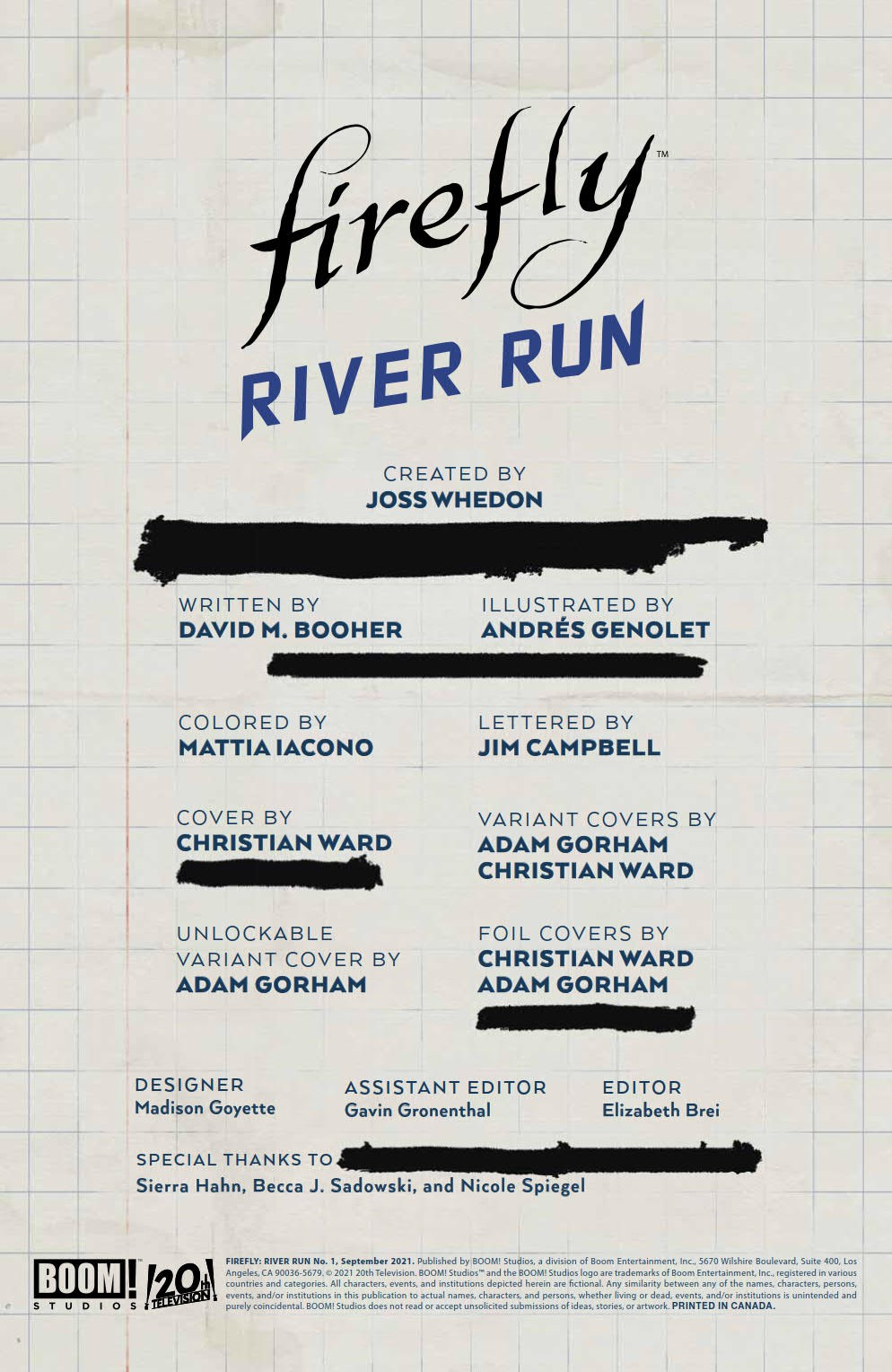 Firefly_RiverRun_001_PRESS_1 ComicList Previews: FIREFLY RIVER RUN #1