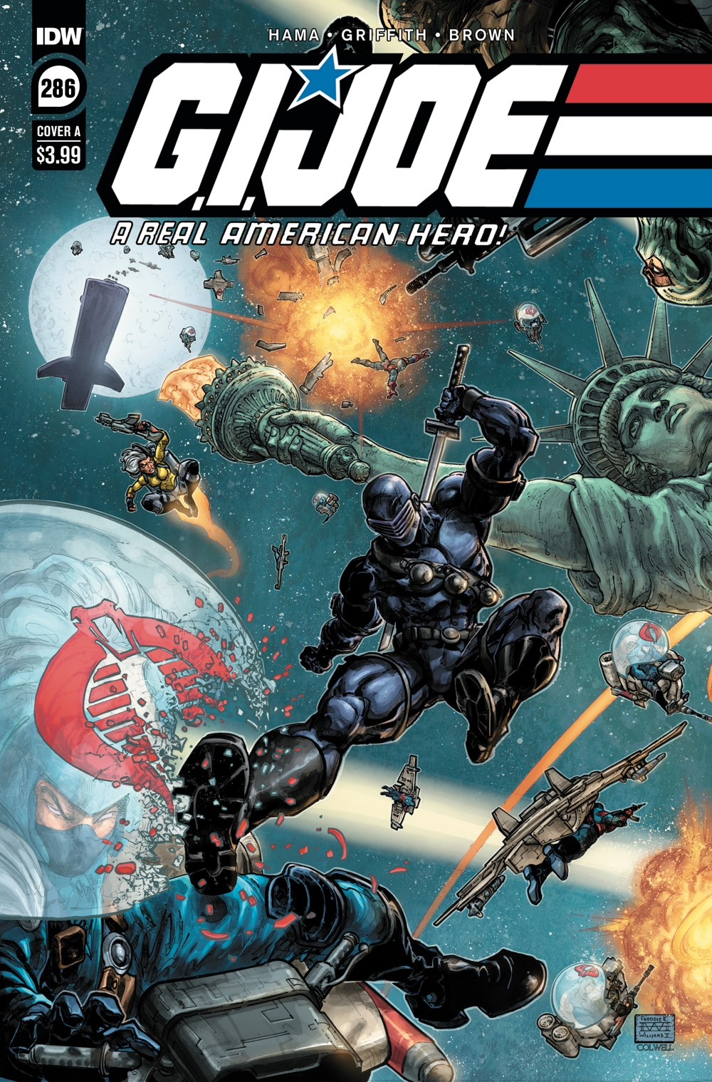 GIJoeRAH286-coverA ComicList: IDW Publishing New Releases for 09/22/2021