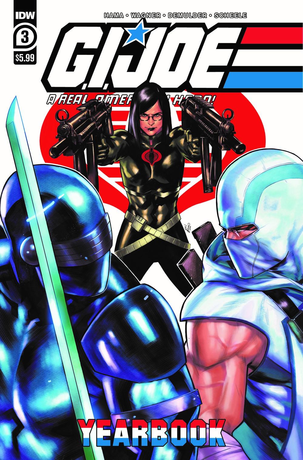 GIJoeRAH_Yearbook2021_03-cover ComicList Previews: G.I. JOE A REAL AMERICAN HERO YEARBOOK #3