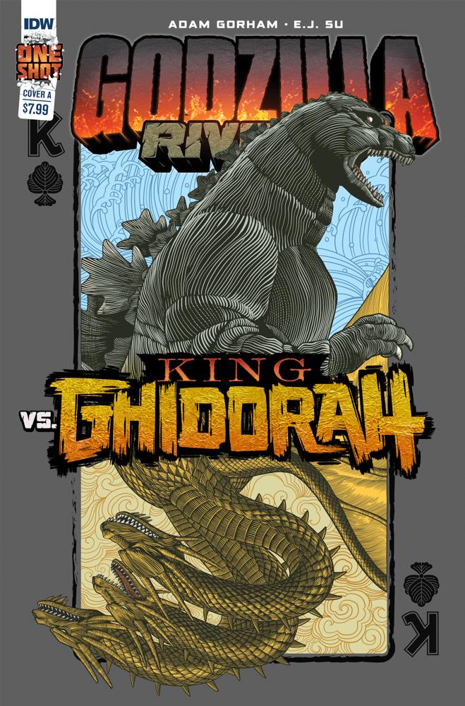 Godzilla_Rivals_3_Cover_A IDW Publishing December 2021 Solicitations