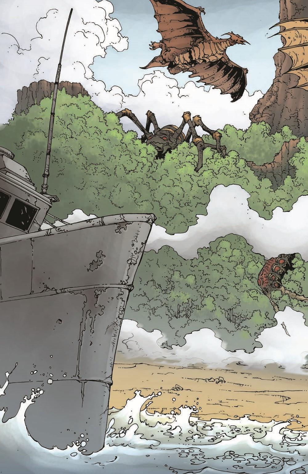 Godzilla_WOM_TPB_pr-6 ComicList Previews: GODZILLA WORLD OF MONSTERS TP