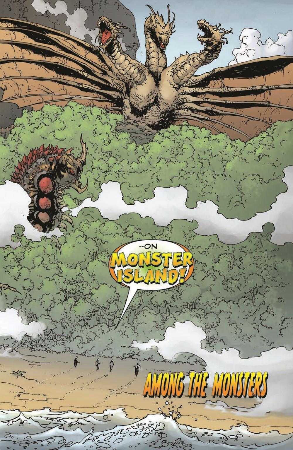 Godzilla_WOM_TPB_pr-7 ComicList Previews: GODZILLA WORLD OF MONSTERS TP