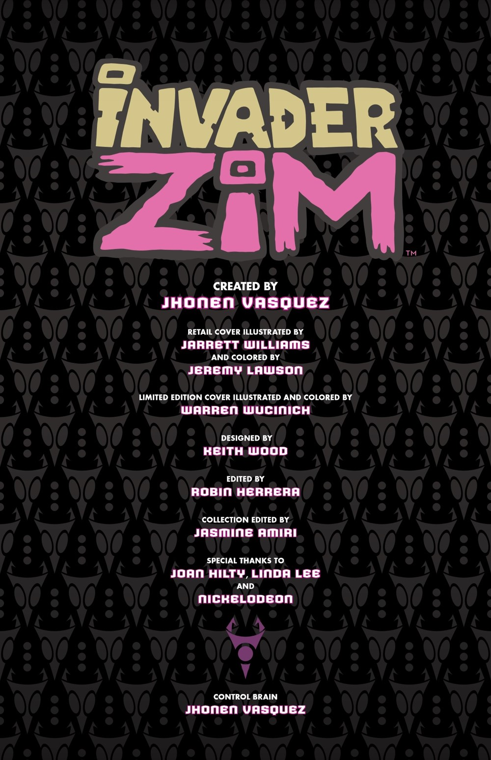 INVADERZIM5-HC-REFERENCE-004 ComicList Previews: INVADER ZIM DELUXE EDITION VOLUME 5 HC