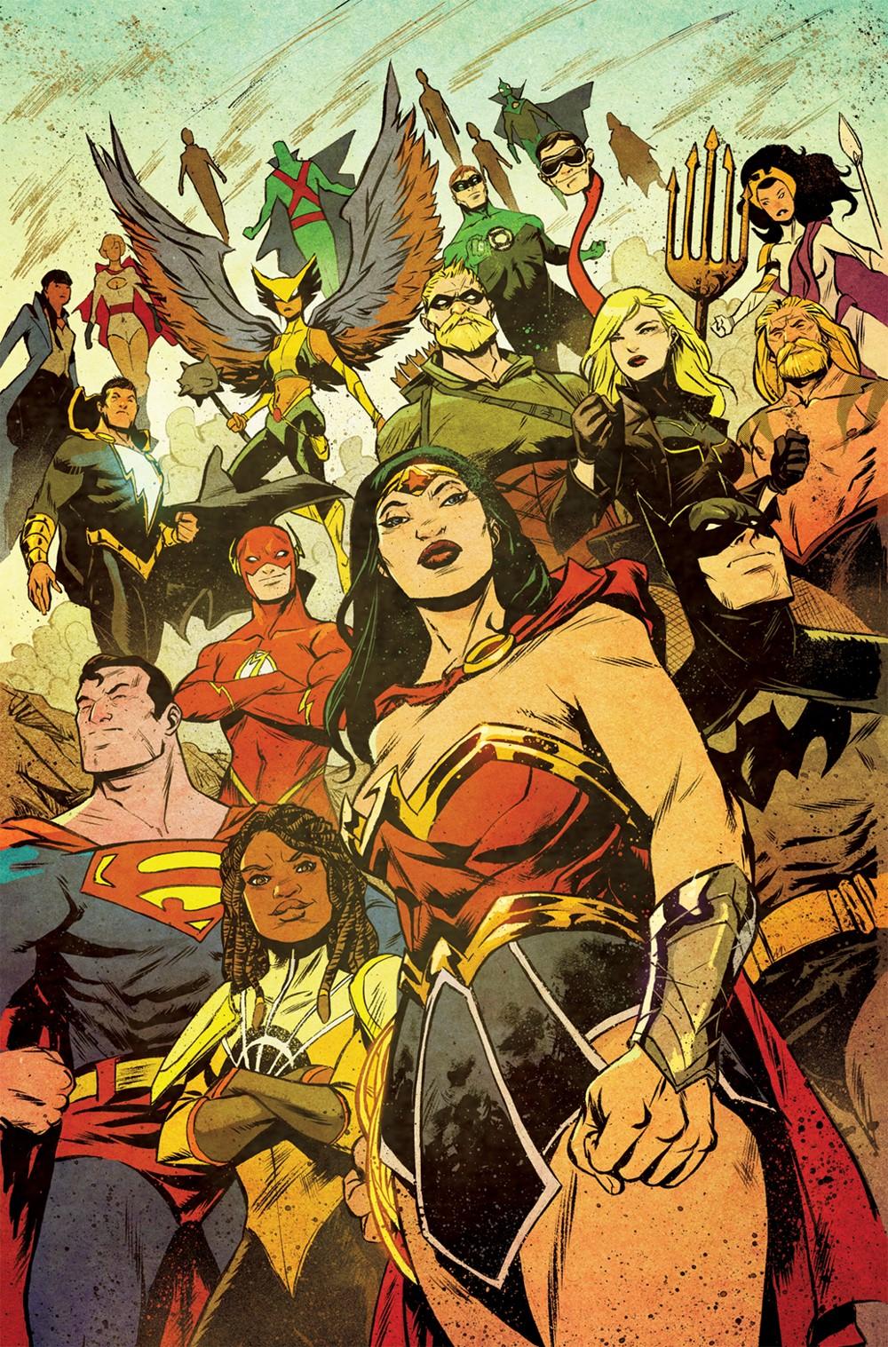 JL2021Annual-Cover DC Comics December 2021 Solicitations