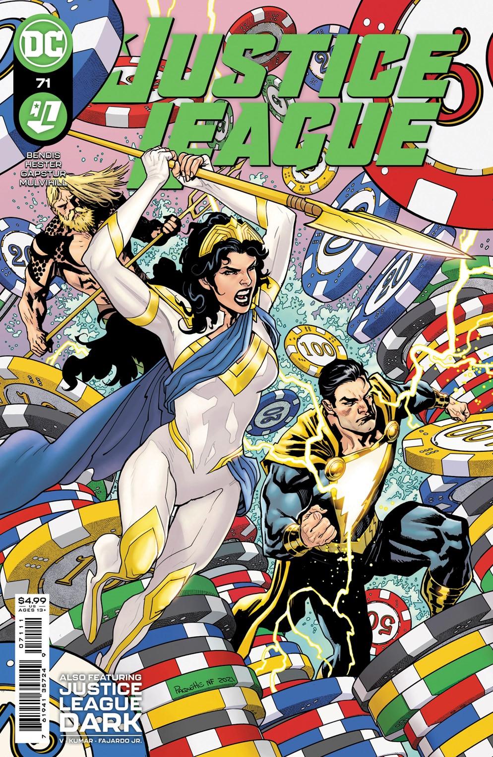 JL_Cv71 DC Comics December 2021 Solicitations
