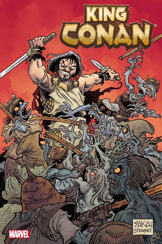 KINGCONAN2021001-Sakai_VAR Marvel Comics December 2021 Solicitations